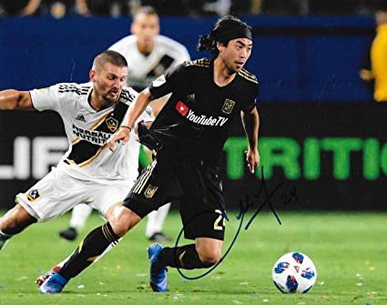 58443c209 Image Unavailable. Image not available for. Color  Signed Lee Nguyen Photo  - Club LAFC 8x10 MLS ...