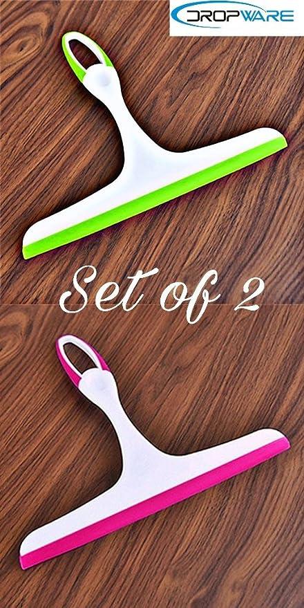 Dropware Squeegee Kitchen Wiper (Multi Colors) Set of 2