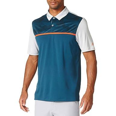 Adidas Golf Jason día la Abierto - Domingo Camiseta Climacool Dot Camo con ventilación Polo Verde Utility Green/Stone/Stone X-Small: Amazon.es: Ropa y ...