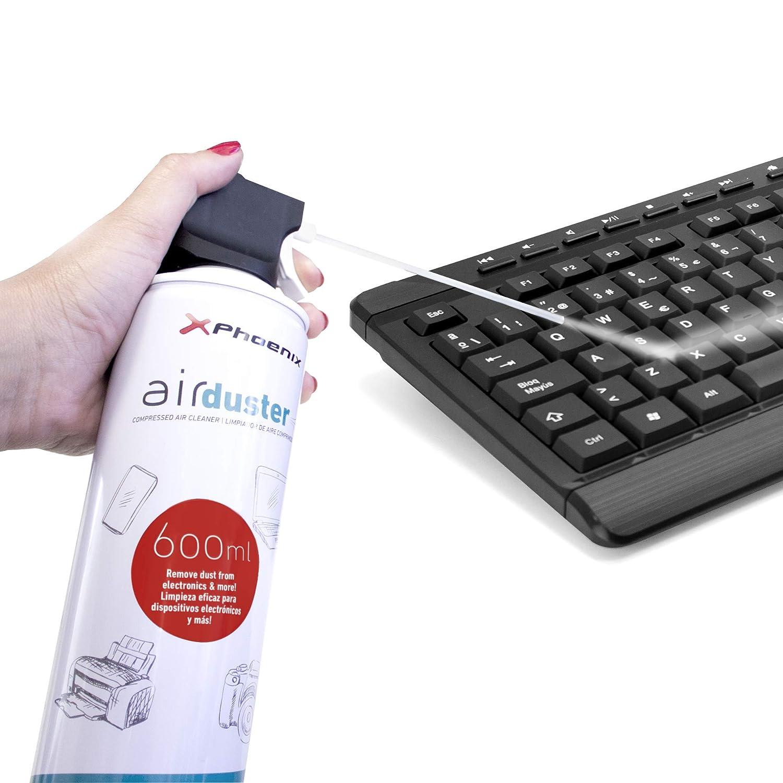 Phoenix Technologies - Limpiador Spray de aire a presión para la limpieza en seco