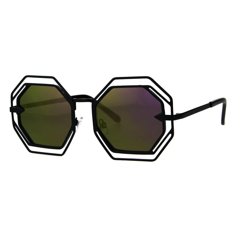 PASTL レディース B076GY5LVZ Black (Purple Mirror)|55.5 ミリメートル Black (Purple Mirror)