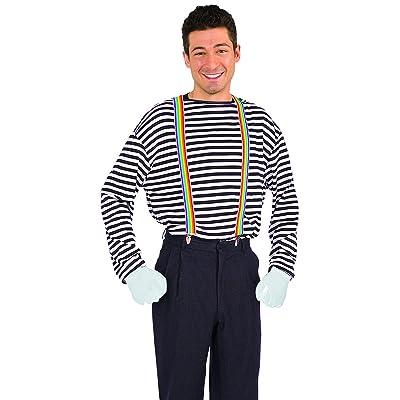 Forum Novelties Unisex Rainbow Suspenders, One Size: Toys & Games