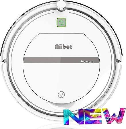 AIIBOT Aspirateur Robot avec Un Système de Nettoyage en 3