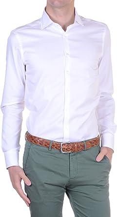 Belmonte - Camisa Hombre Slim Blanco XXL: Amazon.es: Ropa y ...