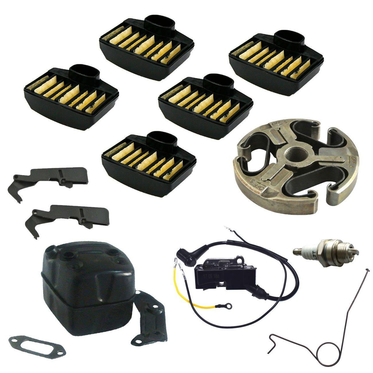 JRL Trigger Support Clutch Spark plug For HUSQVARNA 362 365 371 372 XP Kang Di