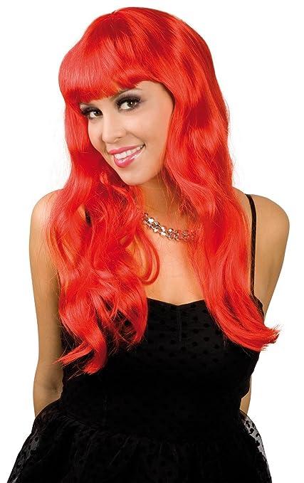 Heaton - Parrucca lunga rossa