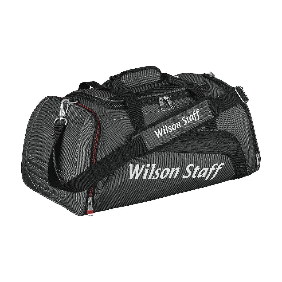 ウィルソンスタッフ2014 Overnight Duffle Bagブラック   B00H5AXDL6
