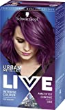 Schwarzkopf Urban Metallics Live Hair Colour, U69 Amethyst Chrome, Pack of 3