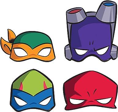 set of 25 TMNT MASK teenage mutant ninja turtle mask leonardo donatello Michelangelo Raphael TMNT Mask Turtle Party Favor Birthday Gift