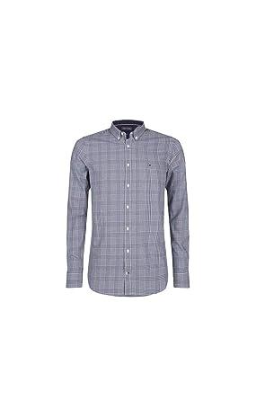 Tommy Hilfiger Slim Prince of Wales Shirt  Amazon.de  Bekleidung 53716f5c66