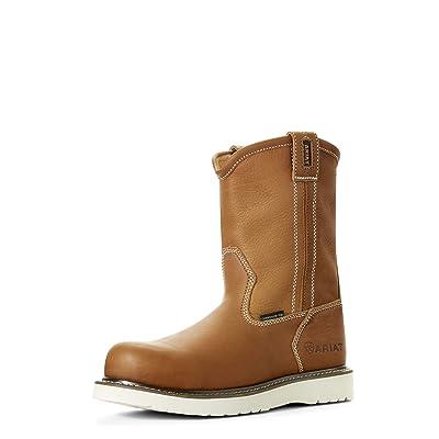 Ariat Work Men's Rebar Wedge Composite Toe Western Boot | Industrial & Construction Boots