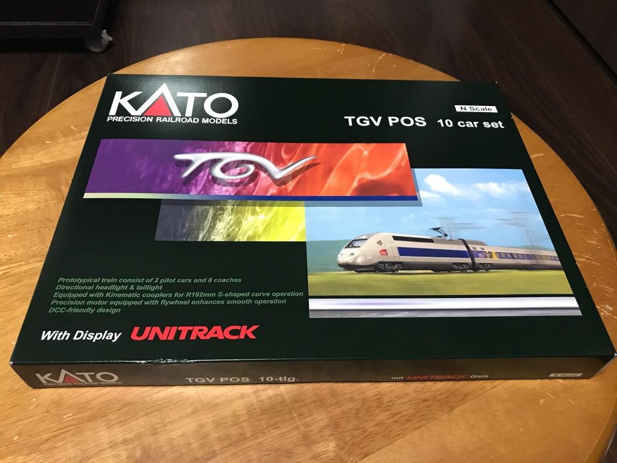 KATO TGV POS 10両セット 品希少 B07F2K6DYL