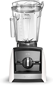 Vitamix A2500 Ascent Series Smart Blender, Professional-Grade, 64 oz. Low-Profile Container, White