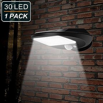 30 De Lampe Solaire Avec ExtérieuEmiup Détecteur Pour Lumière Etanche Led Mouvement Puissant Sans Fil Sécurité Extérieur TlK31JuFc