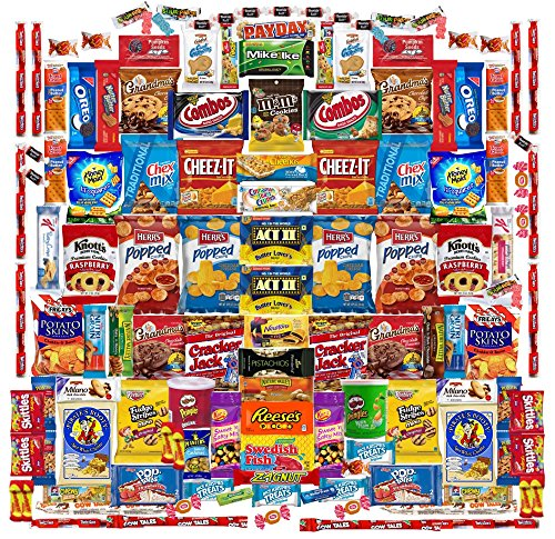 Deluxe 130 Count Snack Box by Skyline Snack Company | Food,