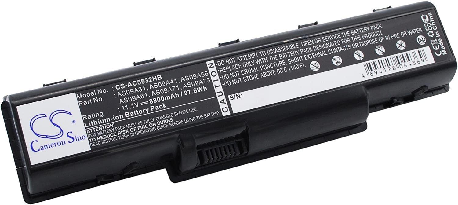 GAXI Battery for Acer Aspire 4732Z-432G25MN, Aspire 5516, Aspire 5517 Replacement for P/N AS09A31, AS09A41, AS09A56