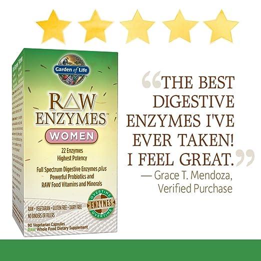 Amazon.com: Suplemento vegetariano para mujeres, enzimas ...