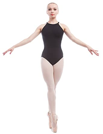 e784d263ea1c Dance Favourite Ballet Leotards Black Cotton Spandex Gymnastics Leotard for  Dance