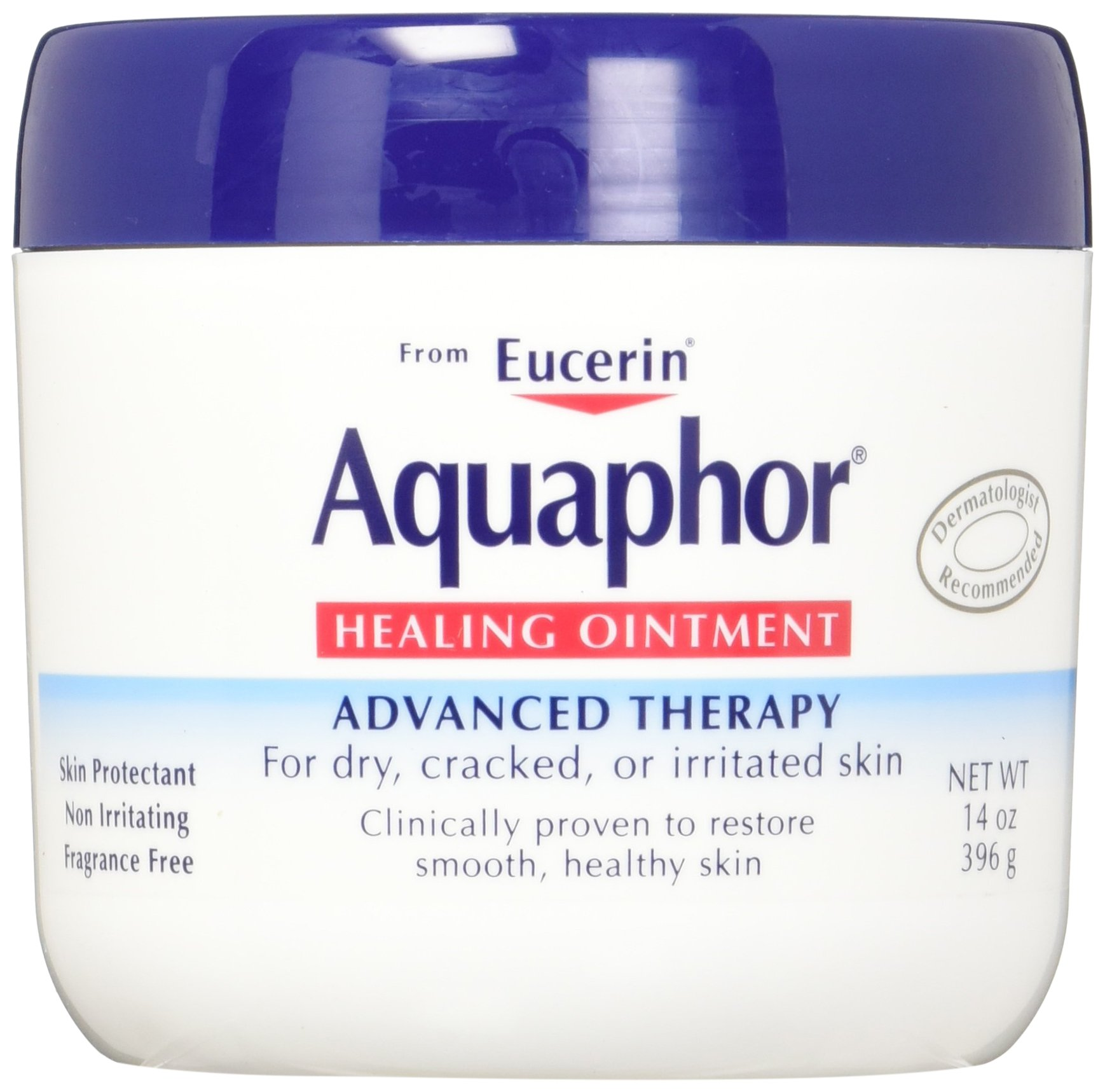 Aquaphor Baby Healing Ointment Advanced Therapy Skin Protectant, Multipack, 14 Ounce (Pack of 2) by Aquaphor