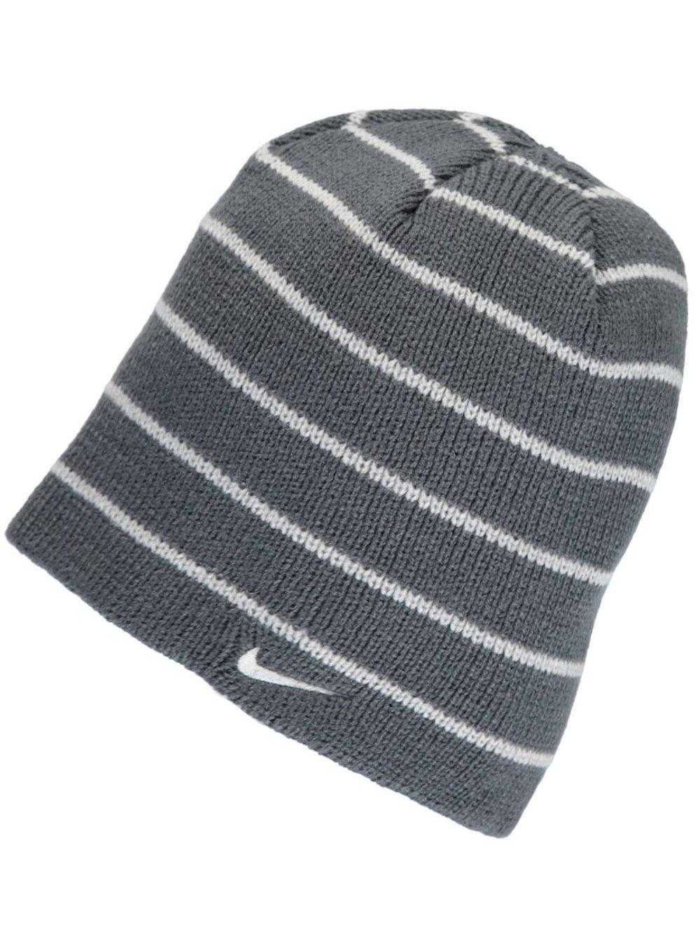 Nike Big Boys Beanie (One Size) - dark gray, 8- 20