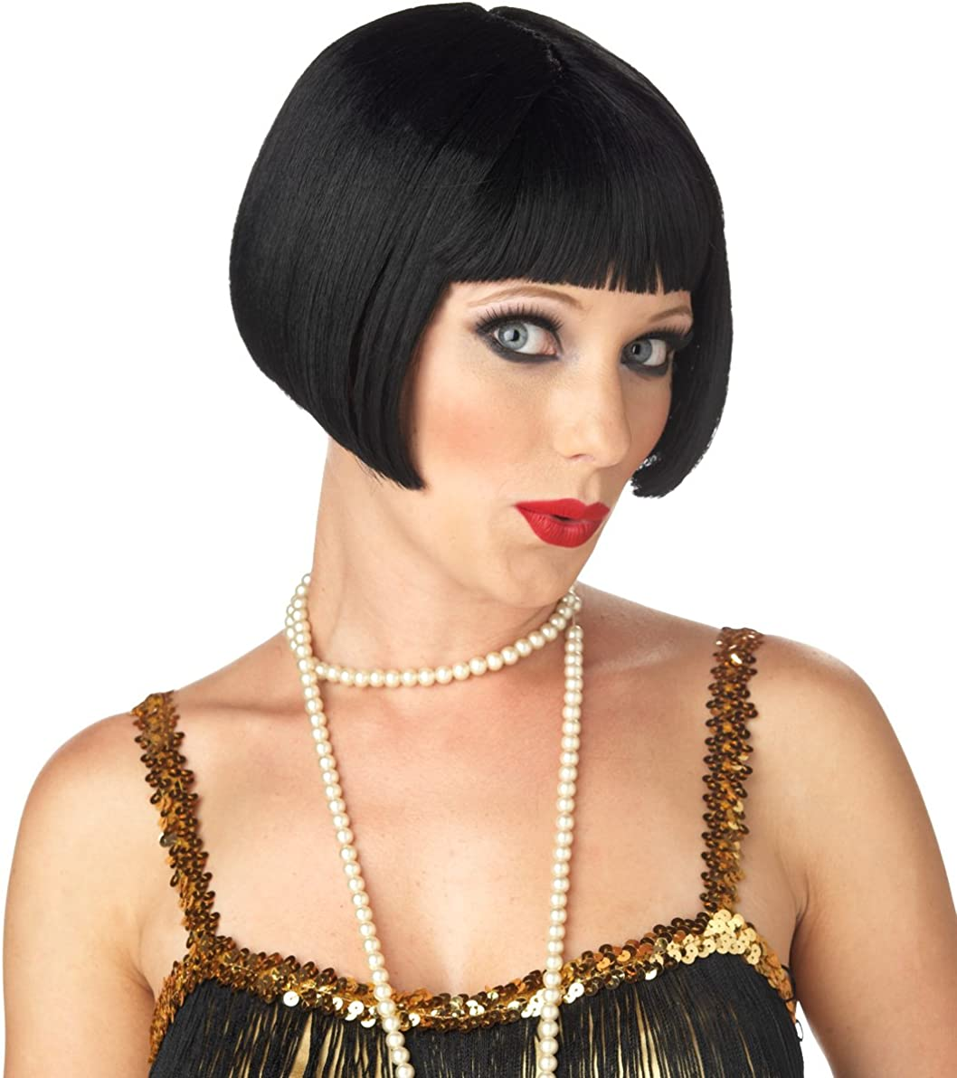 New Adults Flapper Wig