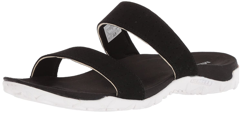 Merrell Women's Terran Ari Slide Sandal B071W6ZP8S 6 B(M) US|Black