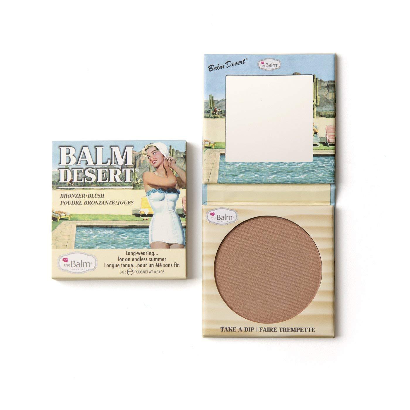 Desert Long-Lasting Bronzer/Blush, Natural Glow, Fade-Resistant