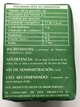 Amazon.com: Magnesium Carbonate 7grs - Carbonato de Magnesio Puro (Pack of 12): Health & Personal Care
