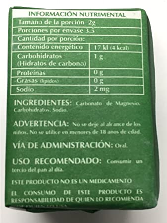Amazon.com: Magnesium Carbonate 7grs - Carbonato de Magnesio Puro (Pack of 12): Health & Personal Care