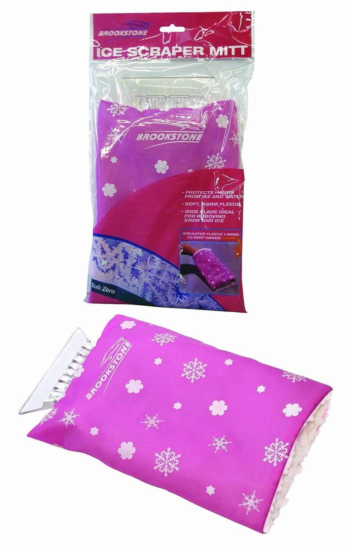 Car Accessories Ice Scraper Glove - Pink Brookstone AVR-310011