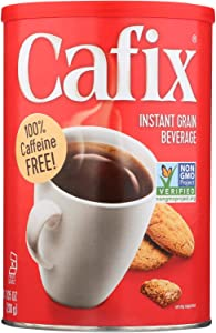 Cafix All Natural Instant Beverage Coffee Substitute - Caffeine Free - Case of 6 - 7.05 oz.