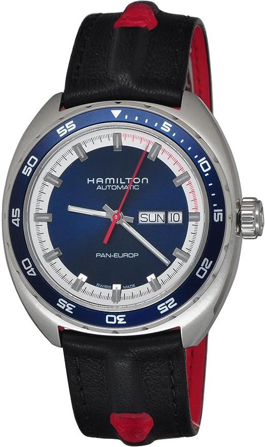 Orologio hamilton timeless classic pan europ watch H35405741