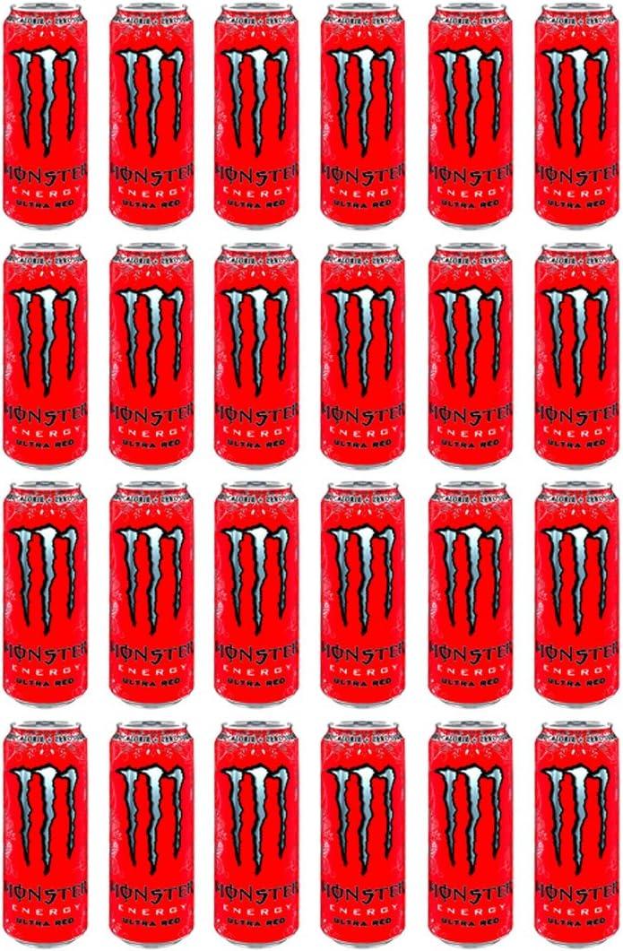 Monster Ultra Red 50cl (pack de 24): Amazon.es: Alimentación y bebidas