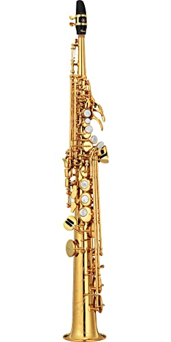 Yamaha Custom YSS-82Z Series Professional Soprano Saxophone with Straight Neck Unlacquered