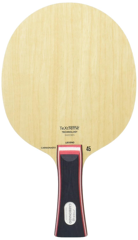 STIGA(スティガ) 卓球 ラケット カーボネード 45 ジュユリン選手使用 1062-XX B074N7J7CW  太いフレアグリップ(01)