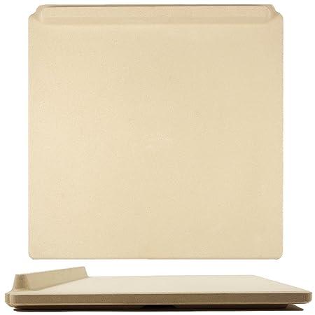 Innovadora Piedra de Pizza Rectangular, 35 x 40 cm, para Cocinar y ...