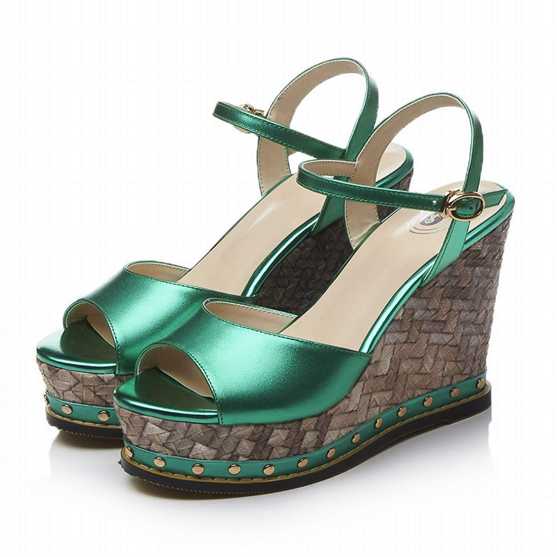 Oudan Scarpe Scarpe Scarpe smorzate Ladies Bottom Ladies Rugby donna scarpe (colore   verde, Dimensione   48) ec5947