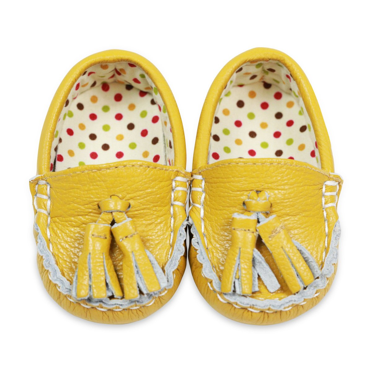 Amazon.com | Little Monkey {Pinkie Toes} Leather & Fabric Lined Infant Baby Newborn Boy Girls Shoes Moccasins | Oxfords & Loafers