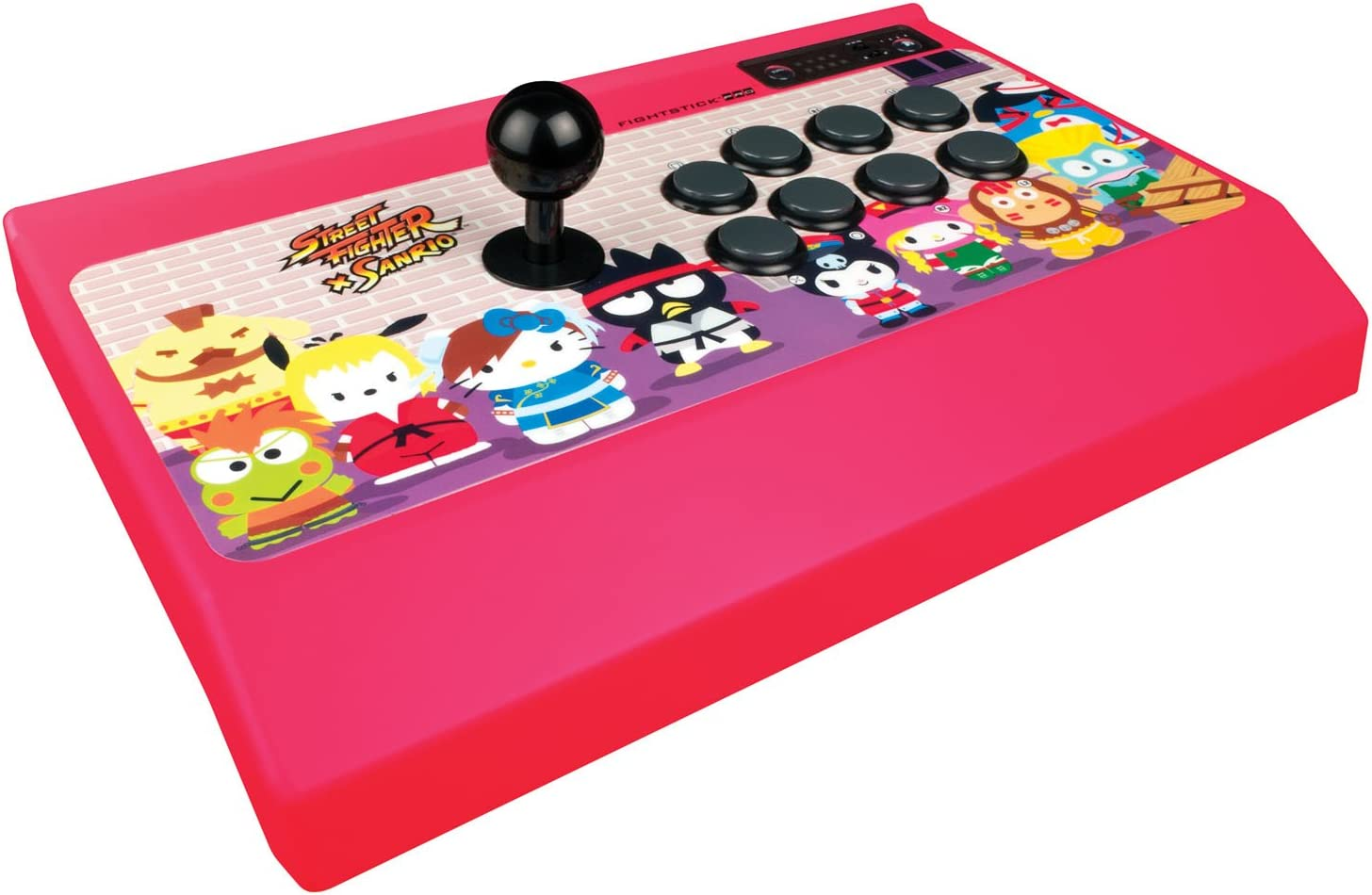 Amazon.com: Street Fighter x Sanrio Arcade FightStick PRO for PlayStation 3: Video Games