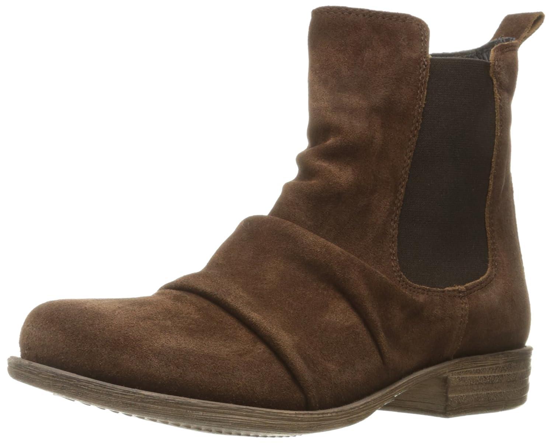 Miz Mooz Women's Lissie Ankle Boot B01F7FLO84 7 B(M) US Brown Suede
