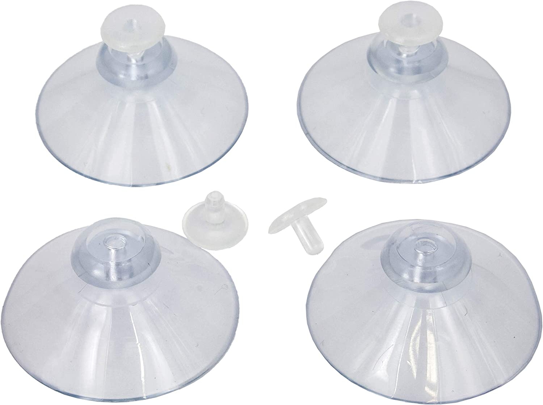 Kunststoff Ø 35 mm Saugnäpfe Haftsauger 5 x Doppel-Saugnapf