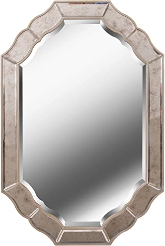 Kenroy Home Deidre Wall Mirror, Silver