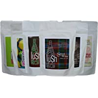 Lush Wine Mix - Organic Mix for Delicious Wine Slushie & Wine Cocktail (Combo 6 pack Autumn/Winter, 6-pack)