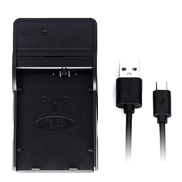 LP-E5 USB Cargador para Canon EOS 1000D, EOS 450D, EOS 500D, EOS Kiss F, EOS Kiss X2, EOS Kiss X3, EOS Rebel T1i, EOS Rebel XS, EOS Rebel Xsi batería ...