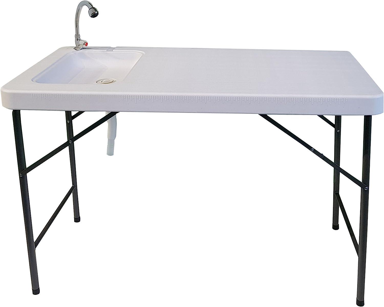 osoltus camping mesa con fregadero de cocina Mesa camping 116 x 59 x 86 cm