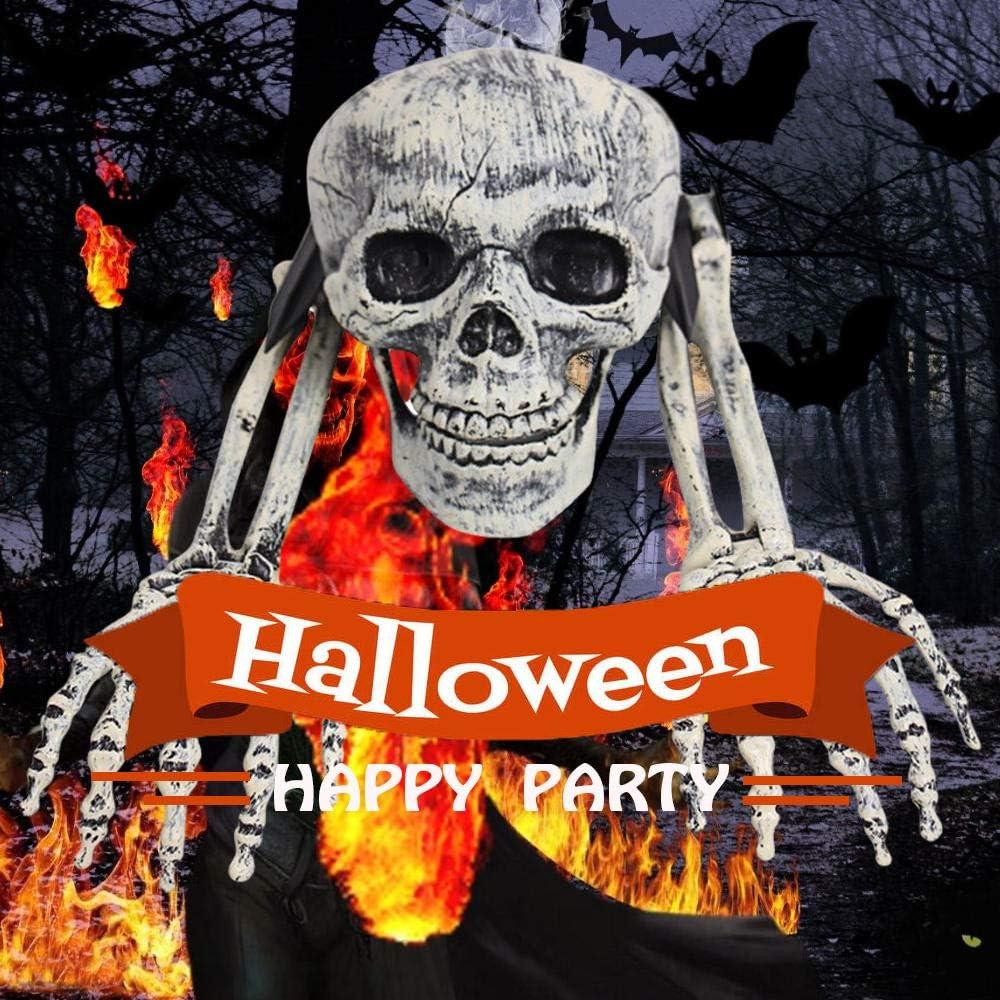Outdoor Dcor Decorative Garden Stakes SKLOER Halloween Skeleton ...