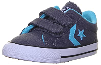 fdbc01fb872273 Converse Star Player 3 V Ox Unisex Children s Sneaker Grey Size  8 UK Child