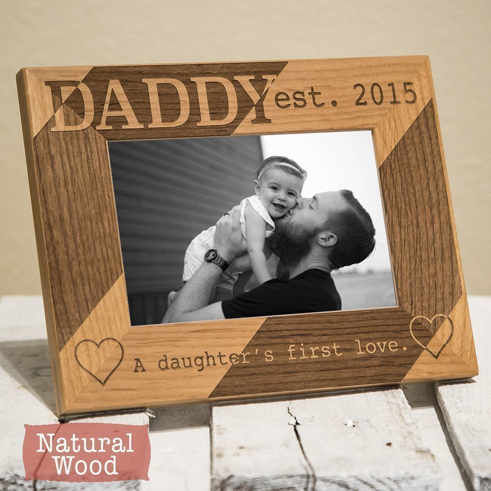 Amazon.com: Personalized Dad Picture Frame - Dad Gift From Daughter ...