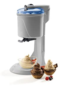 West Bend IC13886WB Soft Serve Ice Cream Machine, White (Discontinued by Manufacturer)