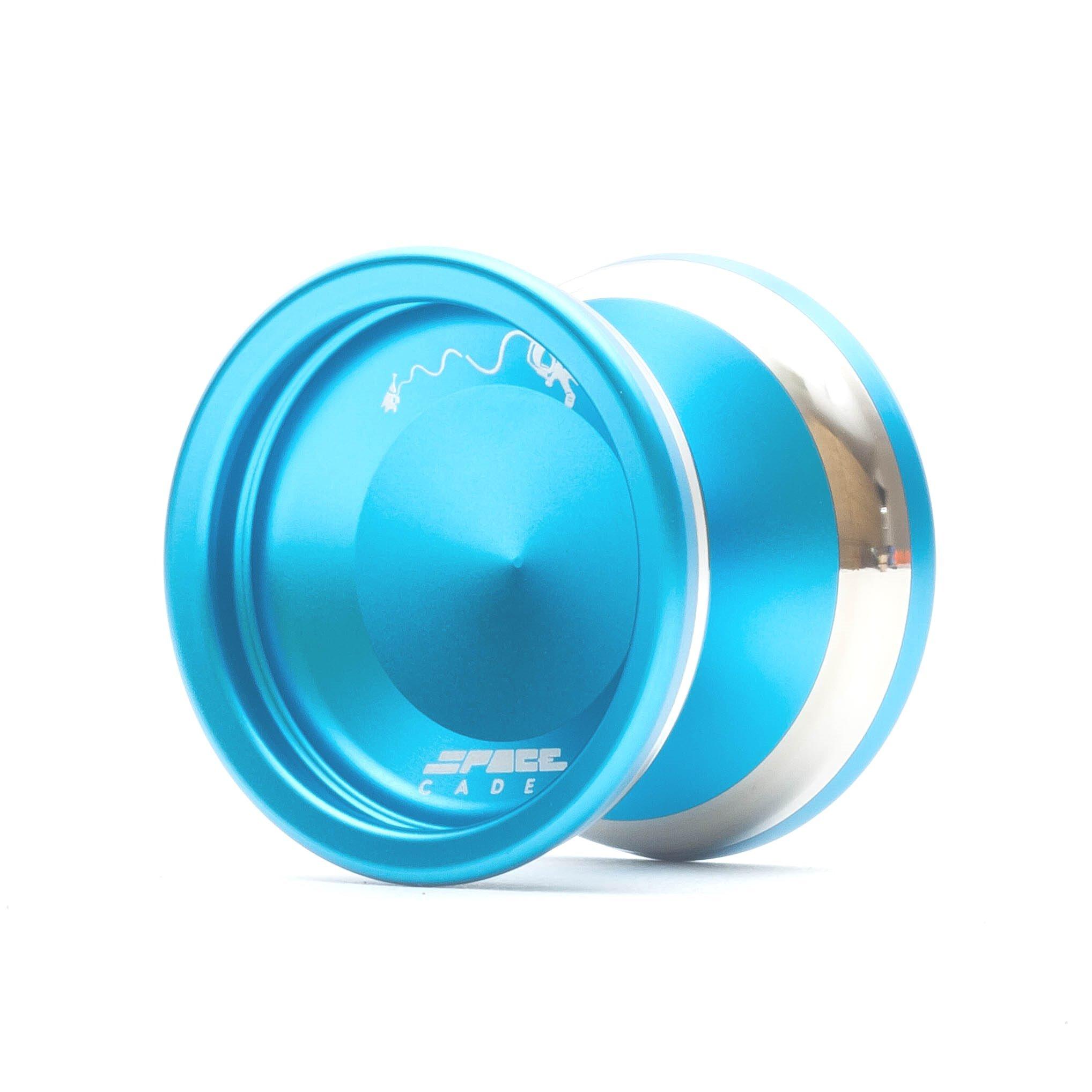 YoYoFactory Space Cadet Bimetal Unresponsive YoYo - Color : Aqua